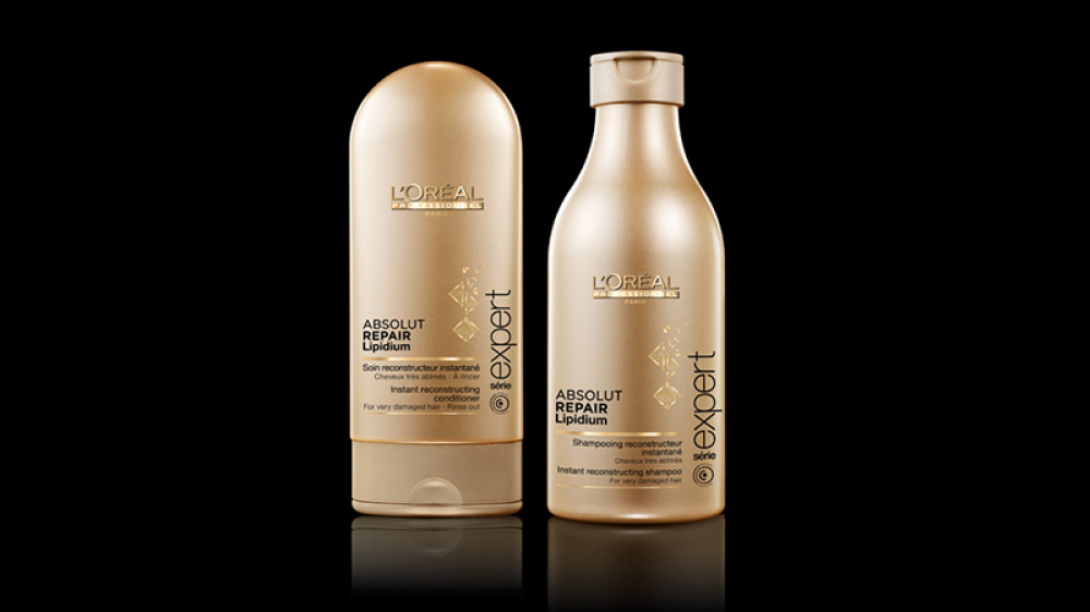 Absolut Repair Lipidium  Shampoo & Conditioner